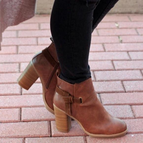 e2f5c05ee3a Aldo Shoes - A+ Melody cognac booties
